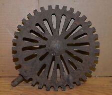 Antique cast iron coal grate industrial steampunk blacksmith forge collectible