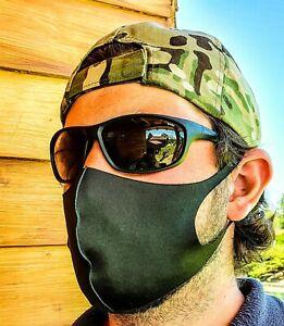 MNS-elastische-Stoff-Behelfs-Mund-Nasenschutzmaske-Waschbar-in-SCHWARZ