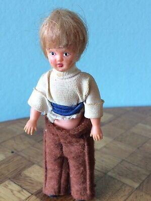 Offen Frau Ari Blond Püppchen Puppe Gummi Puppenstube Puppenhaus 1:12 Dollhouse Doll Um Eine Hohe Bewunderung Zu Gewinnen Und Wird Im In- Und Ausland Weithin Vertraut.
