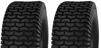 (two) 16x7.50-8 16x750-8 16/7.50-8 Deestone D265 4ply Rated Turf Tires