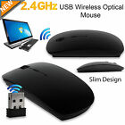 Black Optical Wireless Cordless Compact Mouse 120 DPI 2.4 GHz Windows & Mac Mice