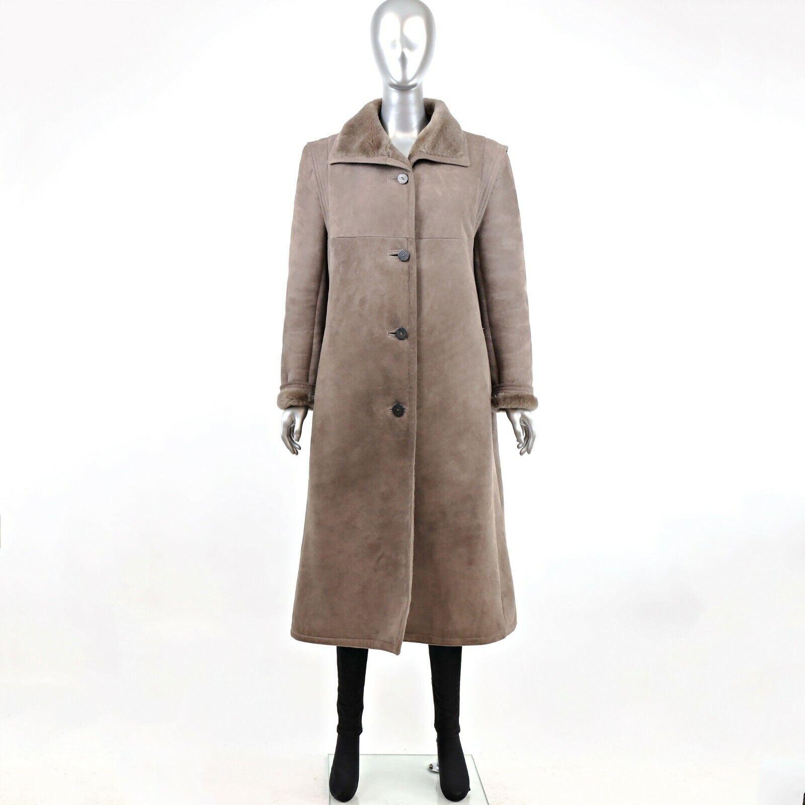 Full Length Shearling Coat- Size M-L (Vintage Fur… - image 3