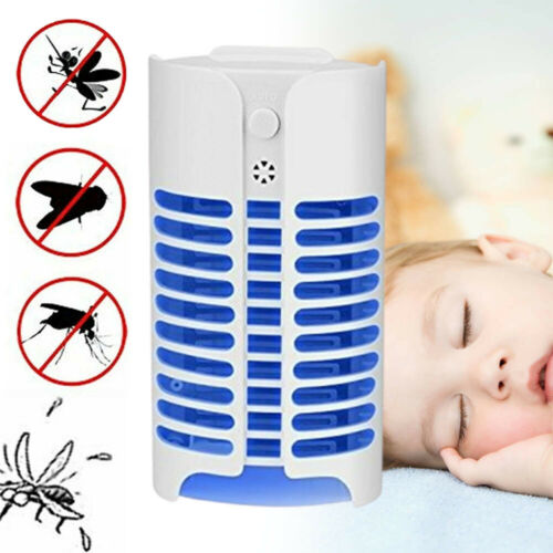 UV Electric Mosquito Killer Insect Fly-Bug Zapper Trap Catcher Lamp LED Light