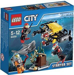 Lego-60091-City-exploradores-profundo-mar-Starter-Set