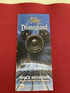 DISNEYLAND Year Of A Million Dreams GUIDE MAP SPACE MOUNTAIN 2006
