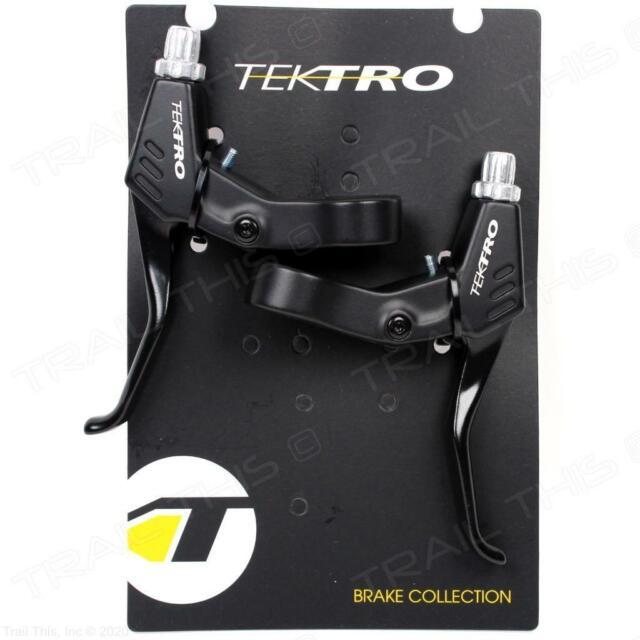 New Tektro RS360A Aluminum Brake Levers Set Black MTB BMX HYBRID Black