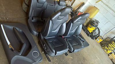 2009 Audi S5 A5 Heated Leather Recaro Bucket Seats Interior + door cards