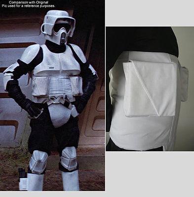 Star Wars - Biker Scout Trooper - Utility Pouches - Replica Costume Prop Armor