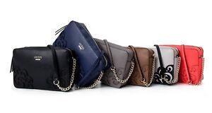 DEVYN Mini Saffiano Crossbody Handbags Top Zip Bags Multi Purse NWT AP642112