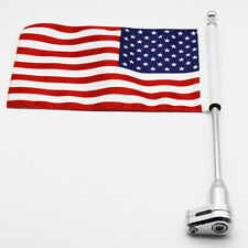 Vertical Flagpole American Flag For 2001-2011Honda GoldWing GL1800 Luggage Rack