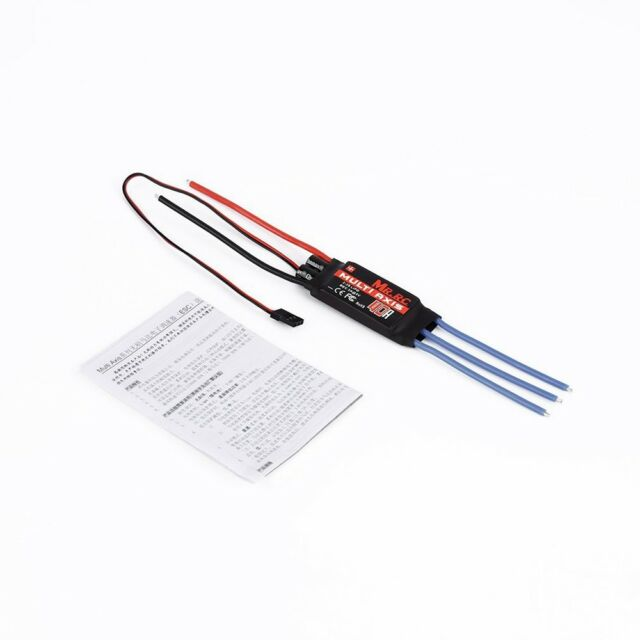 MR.RC 40A Brushless ESC Speed Controller For F450/F550 Multirotor Aircraft K6