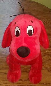 Clifford the Big Red Rover Dog Stuffed Animal Plush Toy Bingo Khols Cares