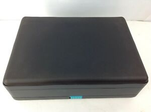 Vtg-LASERLINE-Portable-CD-DVD-Bluray-16-Disc-Case-Player-Handheld-Game-Storage