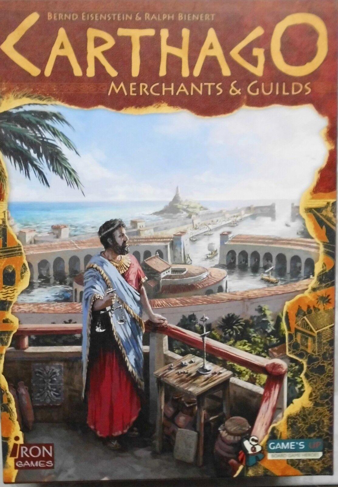Carthago Merchants & Guilds      Iron Games   (OVP)    dt.  engl. Ausgabe