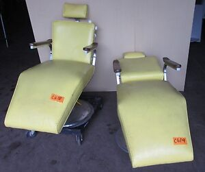 Vintage Dentist Chair Chairs Yellow Ebay