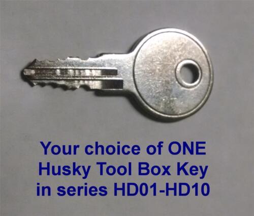 HD03 HD3 Key Replacement Home Depot Husky Truck Tool Box ONE KEY GET LOST KEYS!