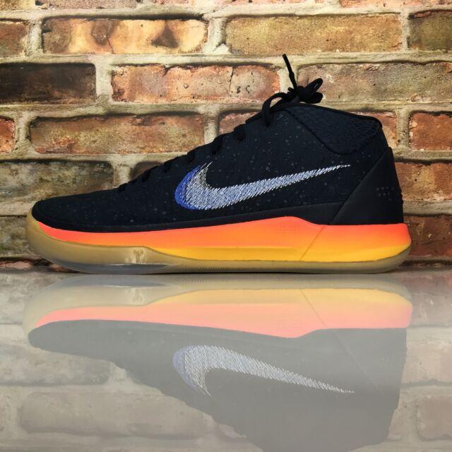 promo code c1396 5854d Nike Kobe Bryant AD 1 Mid Rise Mens 11 Mamba Mentality Blue Basketball Shoes