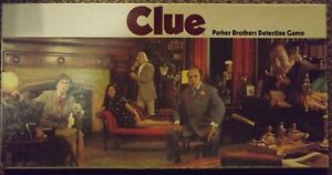 Clue-Board-Game-1972-1979-Parts-amp-Pieces-Only-You-Choose
