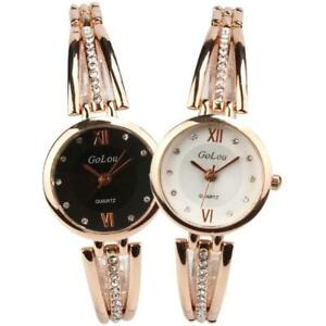 Moda-Donna-al-Quarzo-Analogico-Strass-Bracciale-Orologio-da-polso-orologi-di-lusso-regalo