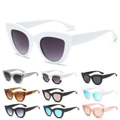 Luxury Ladies Womens Oversized Cat Eye Sunglasses Vintage Style Retro Shades LD