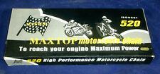 Kawasaki KX125 1980-2005  520 5/8 x 1/4  Chain 120L  w/Split Link Q0520