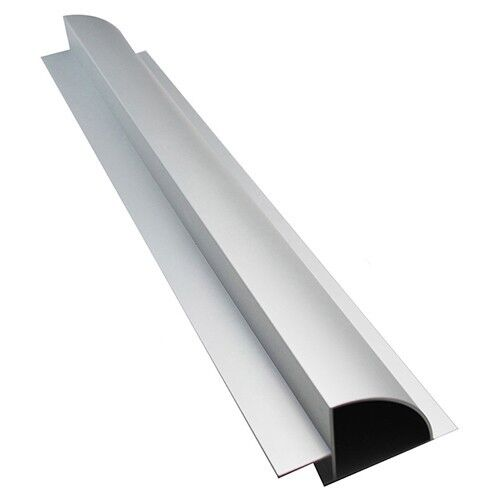Aluminum Spoiler Profiles / Mounting System for one solar panel, camper caravan