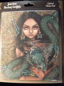 Details About New Stunning Priestess Of Quetzalcoatl Serpent Optical Mousepad Fantasy Art