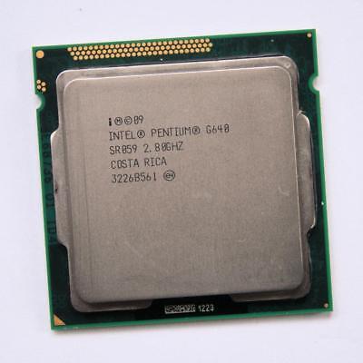 LGA1155 3M Dual Intel Pentium G640 SR059 2 8GHz Core Processore CPU Socket 060zqRZx