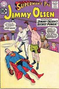 Superman-039-s-Pal-Jimmy-Olsen-1954-series-55-in-VG-condition-DC-comics-d0