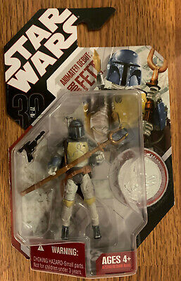 Boba Fett Animated Debut STAR WARS Saga 30th Anniversary #24 MOC