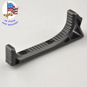 US Alum LINK Curved Angled Foregrip Front Grip For KeyMod Handguard Rails Hunt