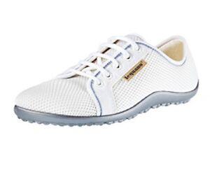 Leguano-a-piedi-nudi-Scarpe-Sneaker-modello-attivo-Polar-Bianco-Tg-40
