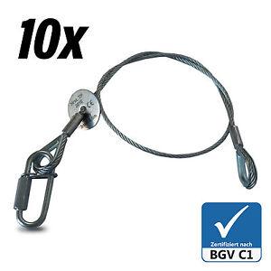 10x-Fangseil-Safety-BGV-C1-60cm-x-3mm-Sicherungsseil-Made-in-Germany-Typenschild