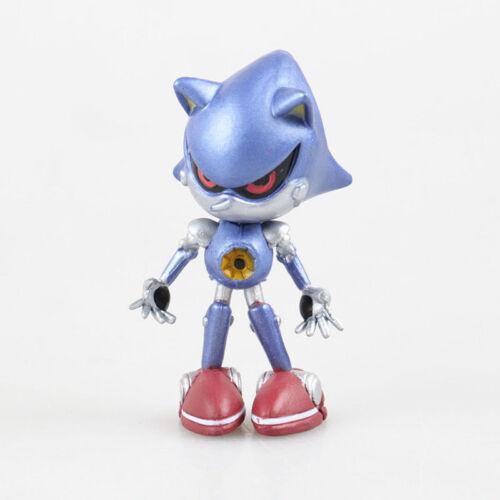 6//1 X Mignon Jeu Sonic Figurines D/'Action Set Poupée Enfants Garçon Fille