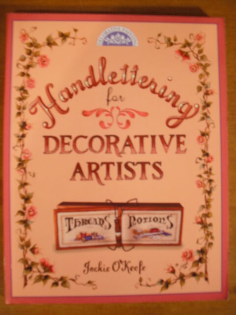 Book Handlettering for Decorative Artists by Jackie O'Keefe NEW