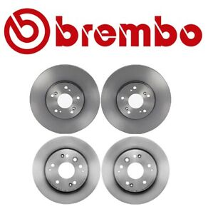 Details about For Acura TL '99-'03 Type S 3 2L Base Front & Rear Disc Brake  Rotors Kit Brembo