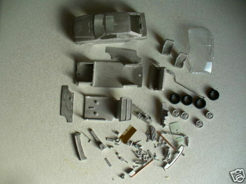 Ford Escort Mk3 XR3 and XR3i  1 43rd scale white metal kit  by K & R Replicas