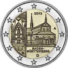 2 EURO  ***  Allemagne 2013  ***   Kloster Maulbronn  ***  Duitsland 2013 !!!