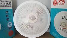 Deckenleuchte PTS-WEISS Flurleuchte Deckenlampe Lampe mit Bewegungsmelder