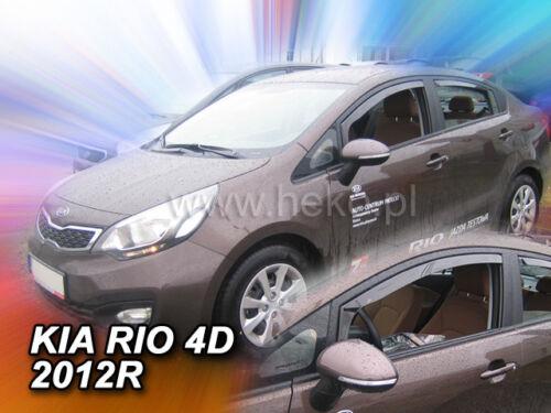 Kia Rio III 4//5 türig año 2011-2017 Heko 20152 derivabrisas 2 pzas
