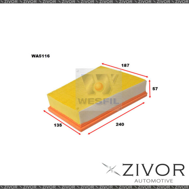 Wesfil Air Filter For Renault Megane 1.9L dCi 07/07-07/10 -  WA5116  *By Zivor*