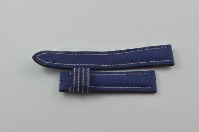 Breitling En Néoprène Bracelet 20mm 20-18 Vintage Pour Fermeture Boucle Ardillon Bijoux, Montres