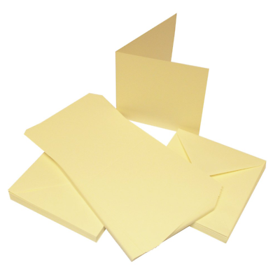 New 50 Blank Cards /& Envelopes Craft Cardmaking Clear Out Job Lot Cards Bundle A