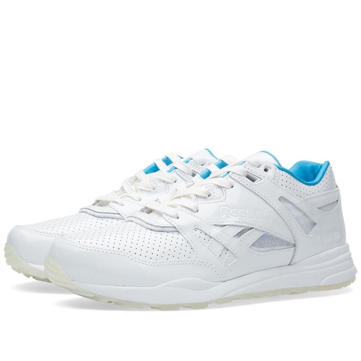 la reebok uomini scarpe da ginnastica respiratore nc bianco