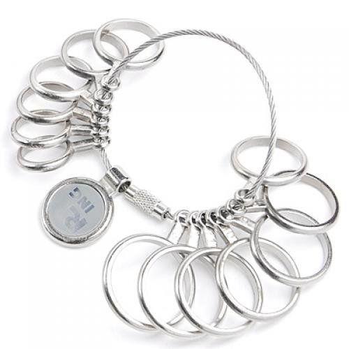 Ringmass Ringgroesse Bestimmung Ring Gauge Gradmesser 0-13 GY T0K0