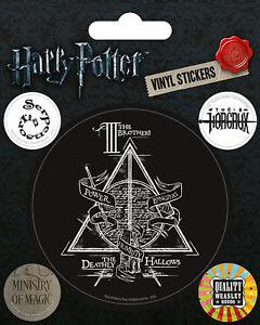 Stickerset Set 5 Sticker Aufkleber FäHig Harry Potter Symbols Magie Fantasy So Effektiv Wie Eine Fee