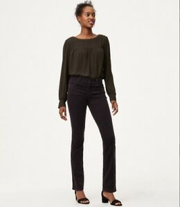 da56c3d5fa7c NWT Ann Taylor LOFT Modern Straight Leg Corduroy Jeans Pants  59.50 ...