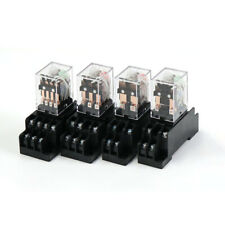 Electromagnetic Relay Set 12vdc 24vdc 36vac 110vac 220ac 24vac Coil Power Relay