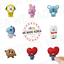 BT21-Character-Figure-Magnet-4-x-5cm-7types-Official-K-POP-Authentic-Goods miniature 1