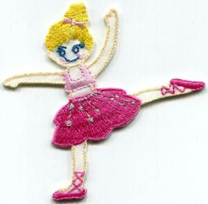 Dancing-girl-ballerina-dance-ballet-embroidered-applique-iron-on-patch-S-1532